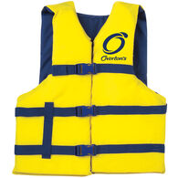 Overton's XXL Adult Nylon Life Jacket, Yellow