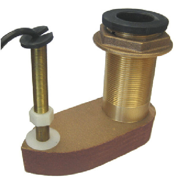 Si-Tex 500/50/200ST Bronze Thru-Hull Transducer
