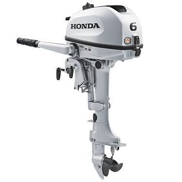 "Honda BF6 Portable Outboard Motor, 6 HP, 15"" Shaft"