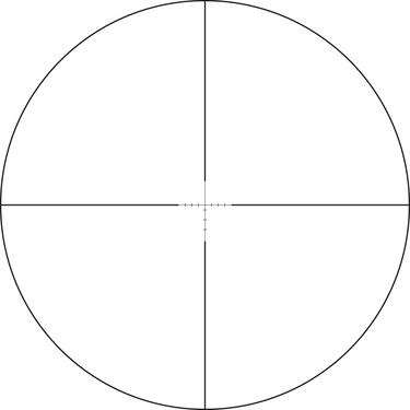 Vortex Crossfire II Riflescope, 4-12x44, Dead-Hold BDC Reticle