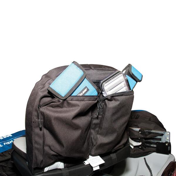 Clam Seat Back Storage