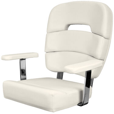 "Taco Standard 19"" Coastal Helm Chair With Armrests"