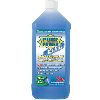 Pure Power Blue Waste Digester and Odor Eliminator - 32 oz.