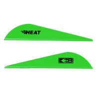 Bohning Heat Vanes, Neon Green, 36-Pack