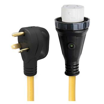 25' 30 Amp Male to 50 Amp Female Pigtail Adapter