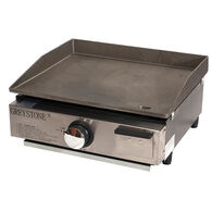 "Greystone 17"" Tabletop Outdoor Gas Griddle"