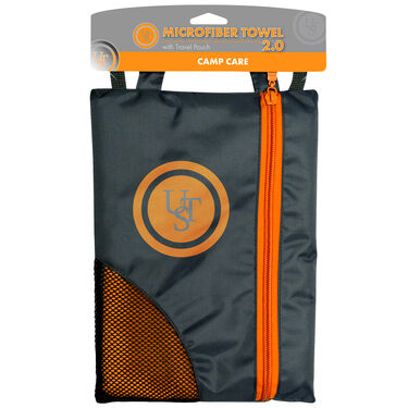 Ultimate Survival Technologies MicroFiber Towel, Orange, Medium
