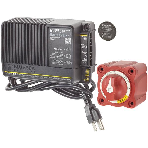 Blue Sea Mini Add-A-Battery Plus Kit