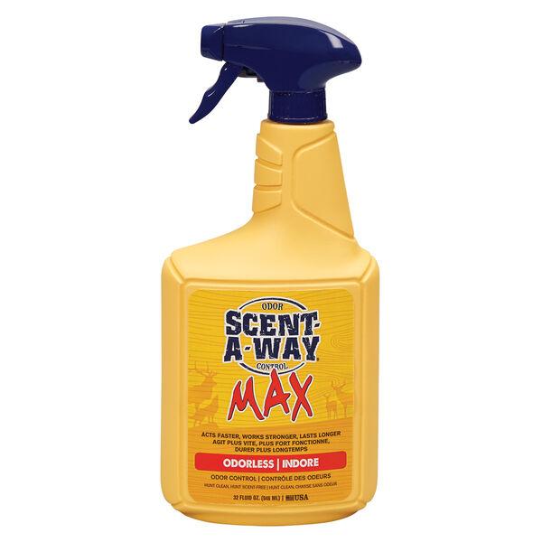 Scent-A-Way MAX Newly Designed Spray, Odorless, 32-oz.