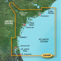 Garmin BlueChart g2 Vision - Charleston to Jacksonville