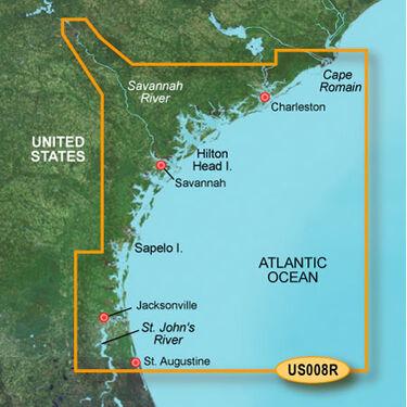 Garmin BlueChart g2 Vision - Charleston to Jacksonville