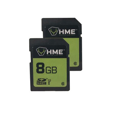 HME 8GB SD Cards, 2-Pack