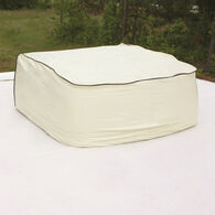 AC Cover - Vinyl, Colonial White Dometic, Brisk Air Bilingual