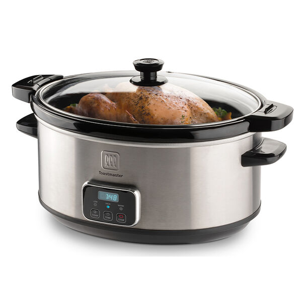 Toastmaster 7-Quart Programmable Slow Cooker