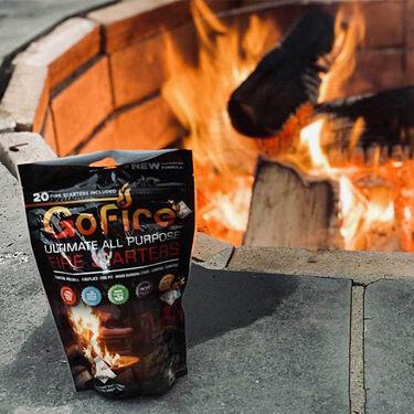 GoFire Fire Starter, Bag of 20