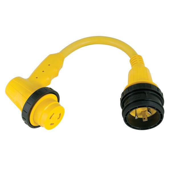 Marinco Right Angle Cord Set Adapter