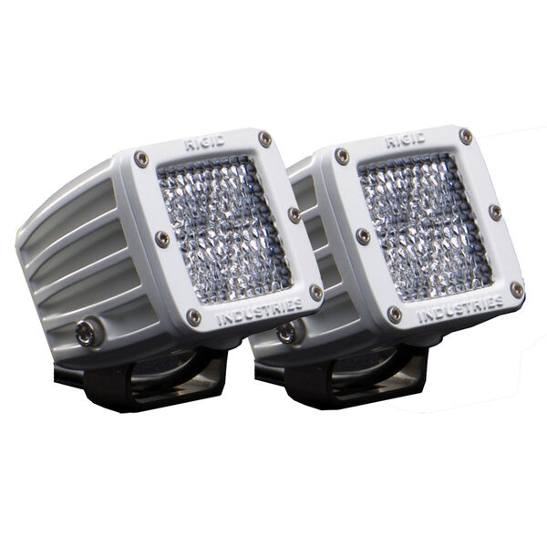 Rigid Industries M-Series Dually LED Diffused Lens Lights, Pair