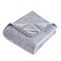 Dream Theory Arctic Comfort Machine-Washable Cooling Weighted Blanket, 12 lbs., Gray