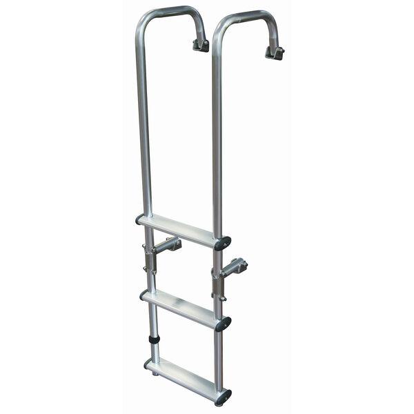 Dockmate Outboard / Inboard/Outboard Transom Ladder, 3-Step