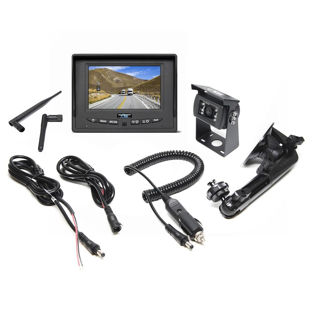 Rvs Systems Digital Wireless Backup Camera System With 5 Led Monitor