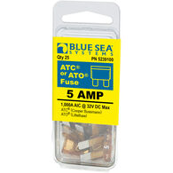 Blue Sea Systems 5A ATO/ATC Fuse (25 Pack)
