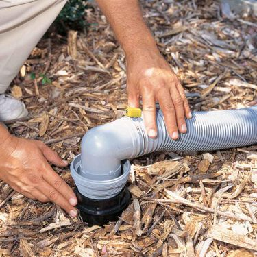 Easy Slip 4-in-1 Sewer Adapter with Elbow