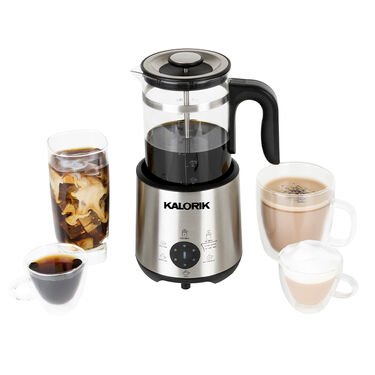 Kalorik Bartista Coffeemaker and French Press