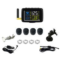 TTILifes U901TP Cap Sensor Tire Pressure Monitoring System Base Kit with Four Sensors and Color Monitor