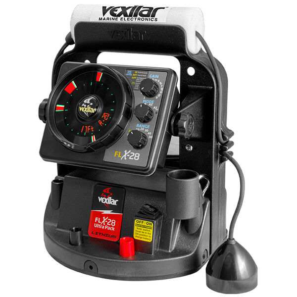 Vexilar FLX-28 Lithium Ultra Pack with Pro-View