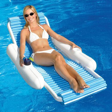 Swimline SunChaser EvaFloat Luxury Lounger