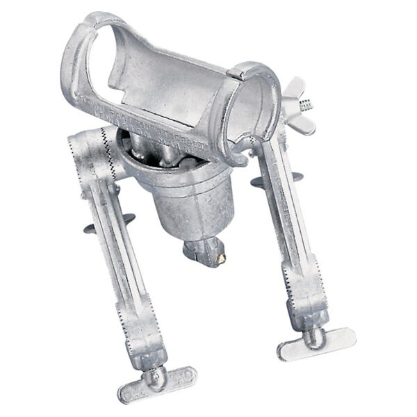 Down-East S-10 Rod Holder With Double Clamp Mount