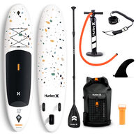 Hurley Advantage 10' Terrazzo Inflatable Stand-Up Paddleboard Package