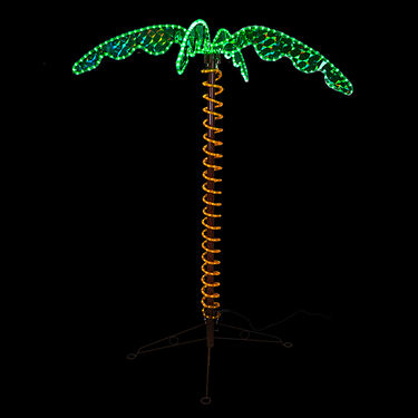 Light Up 4.5' Palm Tree
