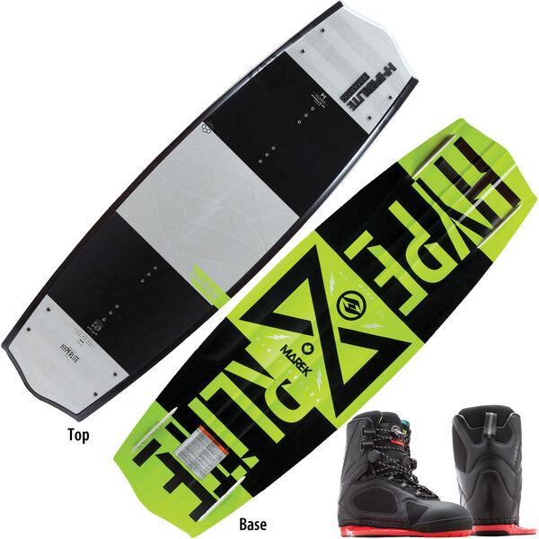 Hyperlite Marek Bio Wakeboard With Team X CT Bindings