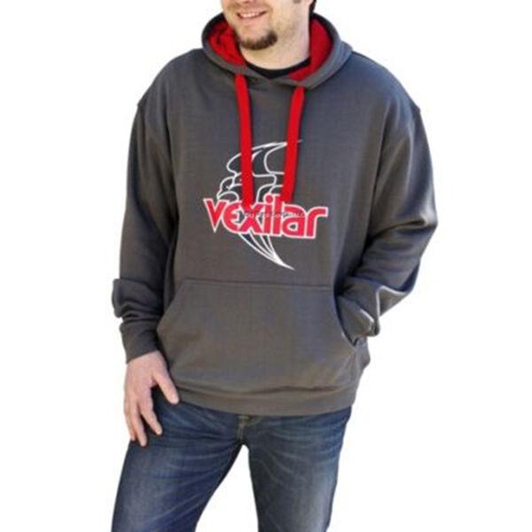 Vexilar Charcoal Hooded Sweatshirt