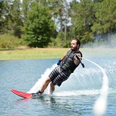 HO CX Slalom Waterski With Free-Max Binding And Rear Toe Plate