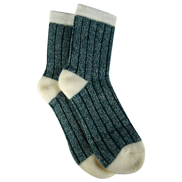 Fire + Ash Women's Double-Layer Ragg Sock with Aloe Vera