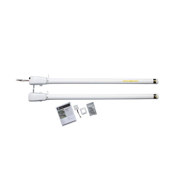 """Solera Universal Hybrid Awning Arm with Two-Position Pitch, 60.5"""" White"""
