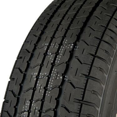 Goodyear Endurance ST205/75 R 14 Radial Trailer Tire, 5-Lug Aluminum T07 Black R