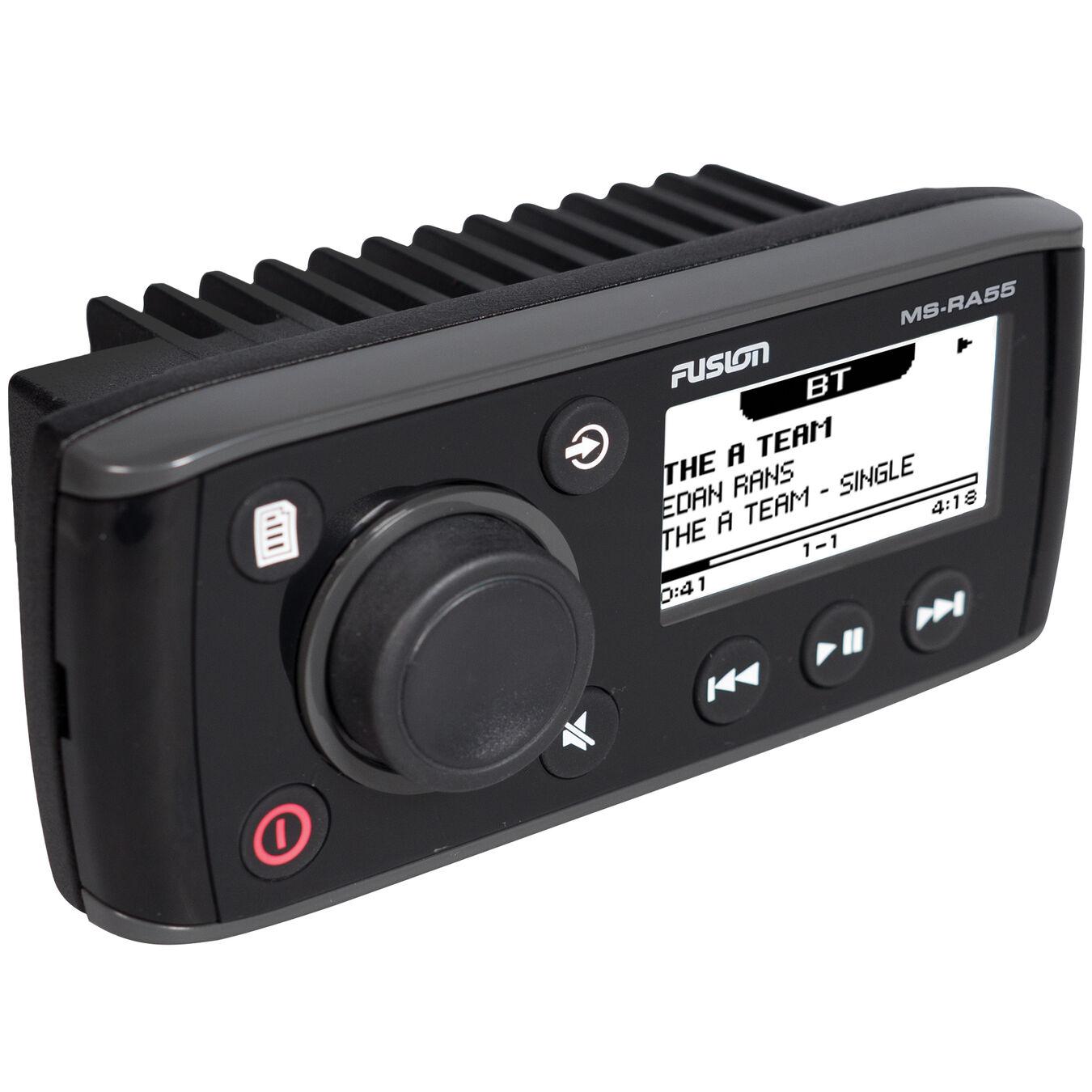 Fusion Electronics 0100171600 Ms-ra55 Compact Bluetooth Marine Stereo