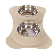 Dolce Flex Diners Pet Bowl, Biscuit