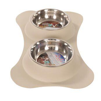 Dolce Flex Diners Pet Bowl, Biscuit