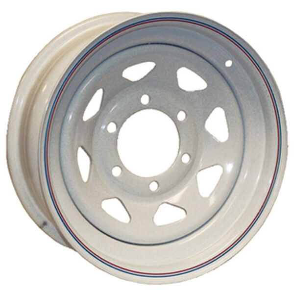 Kenda Loadstar White Trailer Wheel With 5 On 4.5 Bolt Pattern