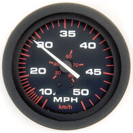 "Sierra Amega 3"" Speedometer, 50 MPH"