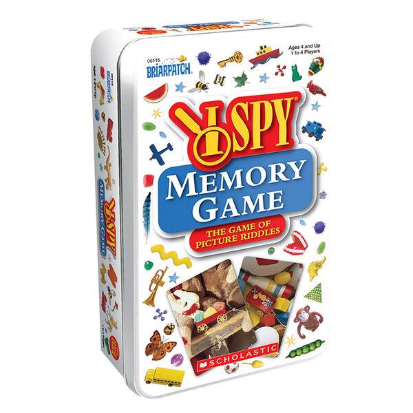 I SPY Memory Game Tin
