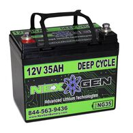 Nexgen 12V Lithium Ion Battery - 12V 35AH Replacement