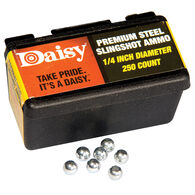 Daisy PowerLine 1/4-Inch Steel Slingshot Ammo, 250-count