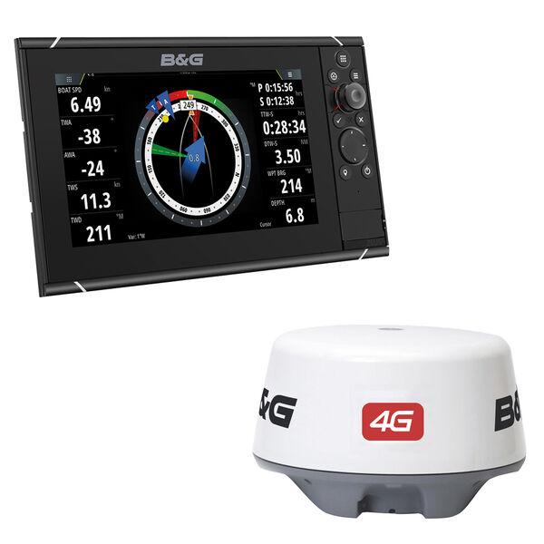 "B&G Zeus 3 9"" Multifunction Display With Broadband 4G Radar"