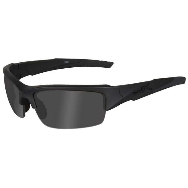 Wiley X Valor Sunglasses, Smoke Grey Lens/Matte Black Frame