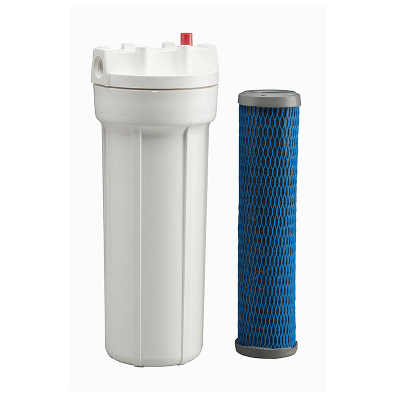 Replacement for Compatible with Culligan RVF-10 Activated Carbon Block Filter Universal 10 inch Filter Compatible with Culligan RVF-10 Exterior Water Filter Denali Pure Brand